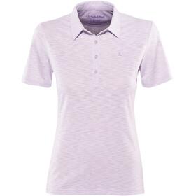 Schöffel Capri1 Polo Shirt Women pastel lilac